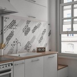 Плитка для «фартука»: особенности выбора материала для современной кухни